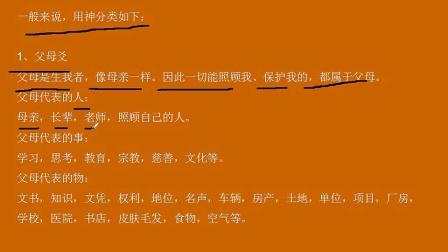 张伟光周易培训讲座(45)—用神与忌神(1)