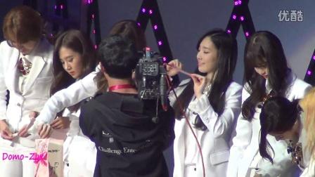 20150103 少女时代FM上海站 制作新年贺卡+采访互动 Part2