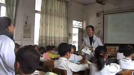 小学三年级语文微课示范教学片段《望天门山》探究类