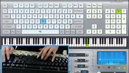 雪之梦 奔跑吧 EOPer 键盘钢琴弹奏