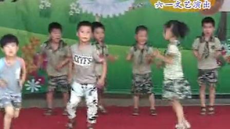 武陟县北街幼儿园六一表演<迷彩酷娃>