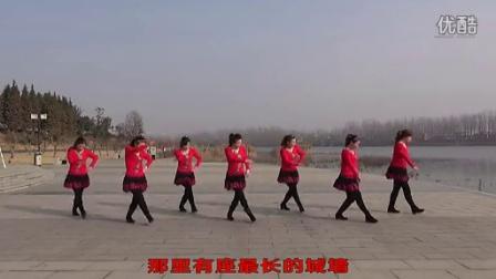 沭河之光广场舞原创中国最强音 正背...