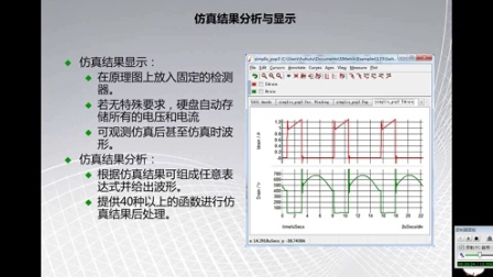 《电路与电源设计平台》杭州易泰达科技SIMetrix/SIMPLIS软件应用培训视频