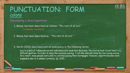 英语写作 English Writing Lesson 13: Punctuation