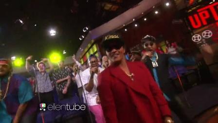 【猴姆独家】Bruno Mars助阵Mark Ronson激情表演Uptown Funk
