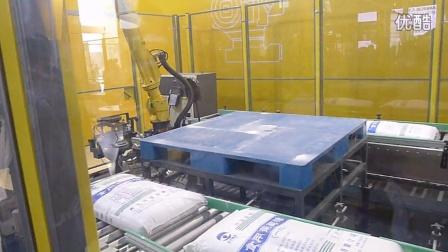 可换治具机器人使用JOULIN海绵吸具抓取袋子