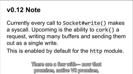 Node.js Now @SFHTML5