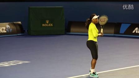 Serena settles back into Rod Laver Arena - Australian Open 2015