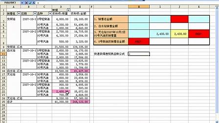 B09活用Excel透视表函数之一《Excel函数与公式实战技巧精粹》视频导读教程
