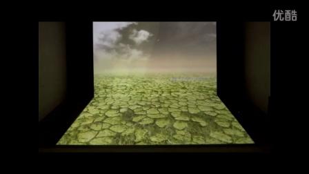L型幕投影沙盘,裸眼3D投影沙盘-苏州能欣