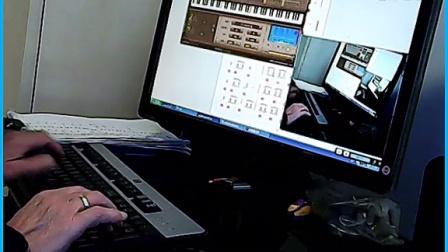 【练声曲之二】我爱 EOP键盘钢琴弹奏