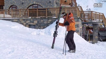 How To Walk On Snow - Beginner Ski Lesson_超清