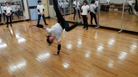 【5BBOY】Nishikasai CREW Nao's Air training