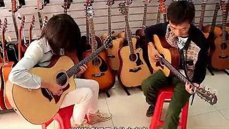 深圳宝安罗湖南山泰勒吉他 马丁吉他taylor  martin 品牌吉他
