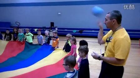 Kindergarten Parachute Fun!