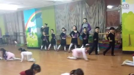 踢踏舞排练2015.1.9