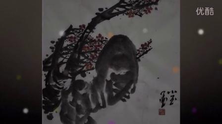 【中华艺术平台-国画名家推荐-杜小玉-大写意女画家-当代女书画家-全球艺术家编码-1989】杜家水墨-梅花3