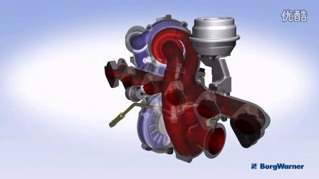 博格华纳可调两级涡轮增压器(R2S®)