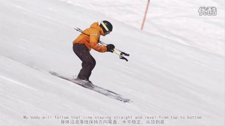 Expert Ski Lessons #7.1 Body Position Short Turns 滑雪英语专业级:带字幕