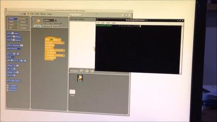 Scracth LED BananaPi demo4