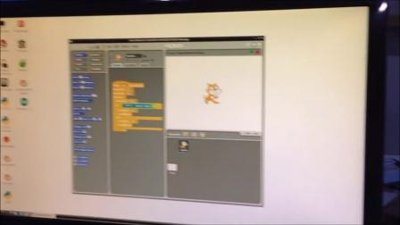 Scratch LED BananaPi demo1
