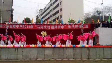 2014年遂宁市西眉中学元旦晚会专属于高二10班音乐生的一段,心曲