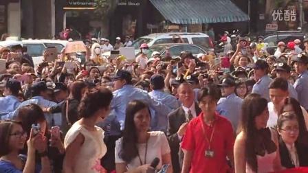 李光洙出席越南胡志明市Caffe bene咖啡店开幕剪彩活动