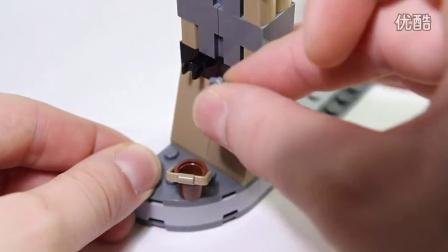 乐高/Lego Star Wars 75005 Rancor Pit Build & Review