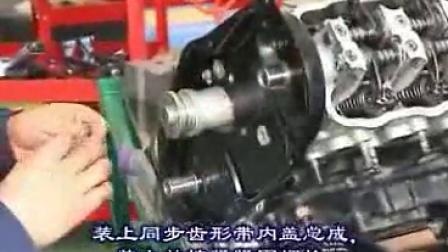 通用五菱维修技术之8发动机的整体安装视频