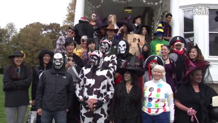 Halloween at the University of Delaware English Language Institute