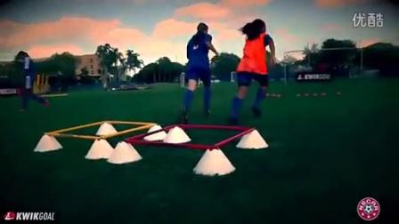 美国女足训练