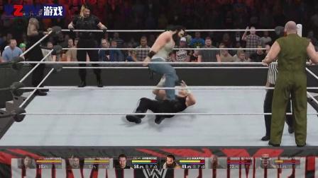 WWE2K15-捍卫者VS怀特家族