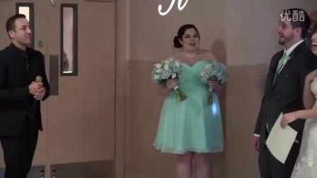 后街男孩Howie突然出现在新人婚礼并祝福唱歌 新娘哭晕!