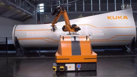 移动工业机器人视频