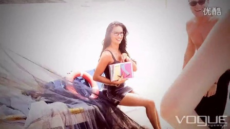 Behind the scenes with Adriana Lima & Vogue Eyewear