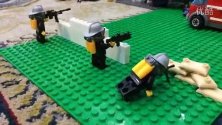 乐高定格动画 城市枪战