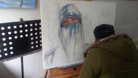 谢彬《穆斯林女人系列3》视频1