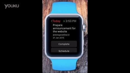 待办事项应用 Todoist 发布 Apple Watch 版演示视频