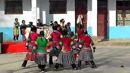 贵州省安顺市西秀区新场乡凤山村苗族舞蹈