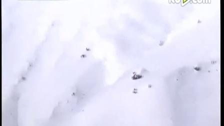 科学家用炸药制造雪崩 宛如银河奔泻 150205 网罗天下