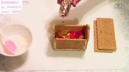 如何做一个姜饼屋--立体饼干装饰