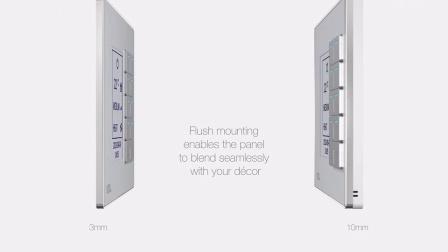 HDL DLP Panel Video - HDL 晶典系列智能家居控制面板