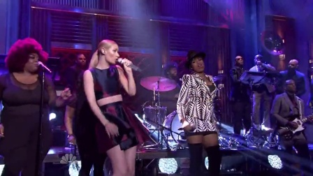 "【WELL-A4real】Iggy Azalea & Jennifer Hudson 现场表演""Trouble"""