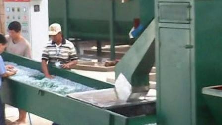 孟加拉国PET破碎聚酯2000KG每小时生产回收线