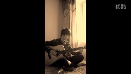 【琴友】吉他指弹E大调《卡农》(视频)