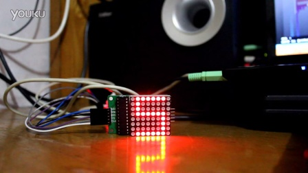 Arduino AtTiny85 使用SPI点亮LED点阵
