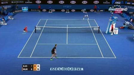 2015澳大利亚网球公开赛男单决赛 德约科维奇VS穆雷 HL