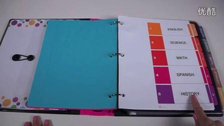 Back to School Organizing Tips- Binder & School Notebook Organization