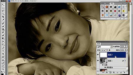 PS人像修图那些事--一分钟旧照片制作 [www.edusoft.com.cn育碟软件]_土豆_高清视频在线观看_0