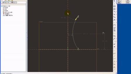 ProE可变螺距的螺旋扫描曲面